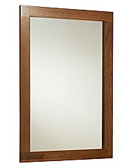 Nexus Framed Mirror / Walnut