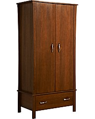 Nexus 2 Door Wardrobe / Walnut