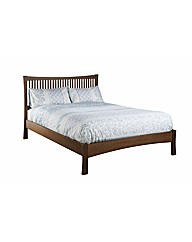 Nexus Double Bed  / Walnut