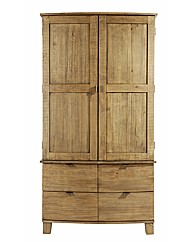Olivia Curved 2 Door 4 Drawer Wardrobe