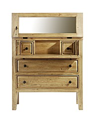 Tuscany 2 Drawer Dressing Table