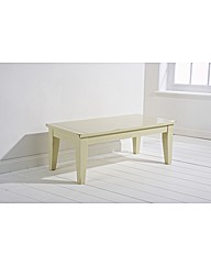 Toulouse Coffee Table  White Painted