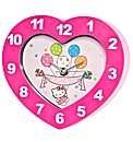 Hello Kitty Pink Heart Clock