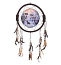Winter Wolf Family Dreamcatcher