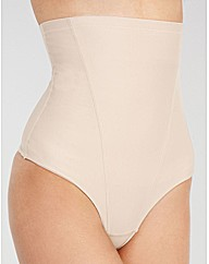 Essential shaping high waisted thong