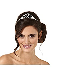 Jon Richard Small Crystal Tiara
