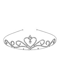 Jon Richard Crystal Heart Tiara