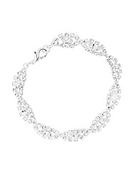 Jon Richard Lydia Diamante Bracelet