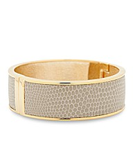 Mood Snake Skin Inlay Bangle