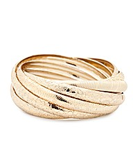 Mood Gold Interlock Bangles