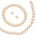 Mood Pearl Earring Necklace and Bracelet