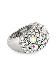 Mood Aurora Borealis Crystal Ring