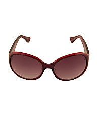 Fiorelli rounded rectangular sunglass