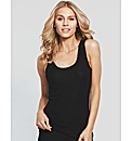 Adore Thermal Silk Blend Rib Vest
