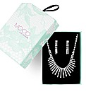 Mood Crystal Stick Bib Necklace