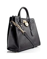 Michael Kors Saffiano Hamilton Handbag