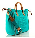 Tory Burch Small Perf Drawstring Handbag