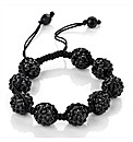 Black Coloured Ball Bracelet