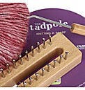 Raspberry Red Knit Kit Including DVD and