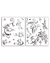 Set of 2 Arabesque Stamp Sets