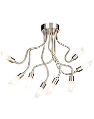 Hadar 8 Light Chrome Ceiling Light