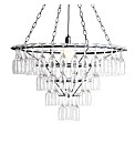 Black 4 Tier Champagne Glass Chandelier