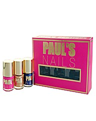 Pauls Bouitique Nails 3 X 10ml