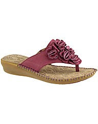 Hush Puppies Laze Toe Post FL Sandal