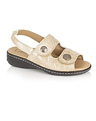 Lotus Burr Casual Sandals