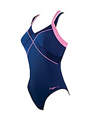 Zoggs New Resort Dual X Back Swimsuit
