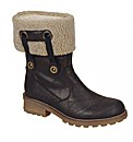 Rieker Tara Ladies Fur Trimmed Ankle Boo