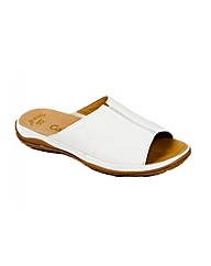 Gabor Idol Leather Wide Fit Casual Mules