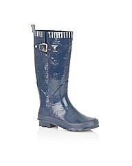 Posh Accona High Welly Boots