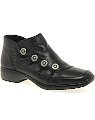 Rieker Dawn Womens Leather Ankle Boots