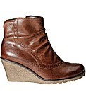 Gabor Knight Womens Wedge Heeled Boots