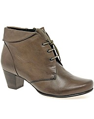 Caprice Sarah Womens Lace Up Ankle Boots