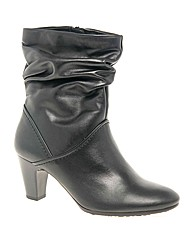 Gabor Magda Womens Rouched Leather High