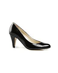 Holt Black Feature Court Shoe