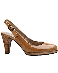 Gabor Cedarwood Womens Slingback Court S