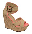Dolcis Neon Strappy Wedge