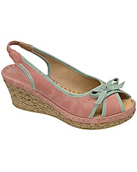 Manfield Slingback Wedge