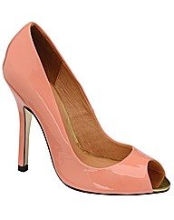 Ravel Liv peep toe court shoe