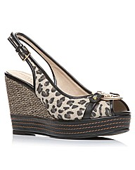 Moda in Pelle Polter Ladies Sandals