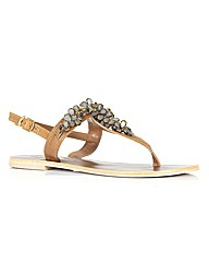 Moda in Pelle Oysters Ladies Sandals