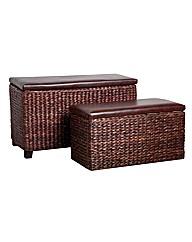 Premier Houewares Storage Seats