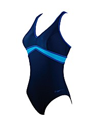 Zoggs Ocean Jewel Crossback Swimsuit