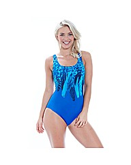 Zoggs Blue Planet Scoopback Swimsuit