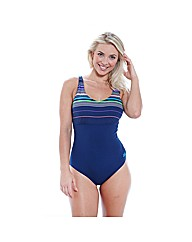 Zoggs Formula V Neck Clipback Swimsuit