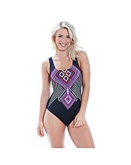 Zoggs Deco Tribe Scoopback Swimsuit