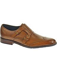 Hush Puppies Style Monk Strap Shoe